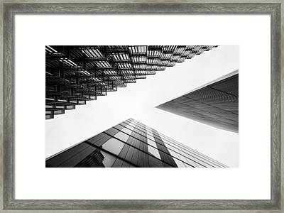 More London Framed Print by Matt Malloy