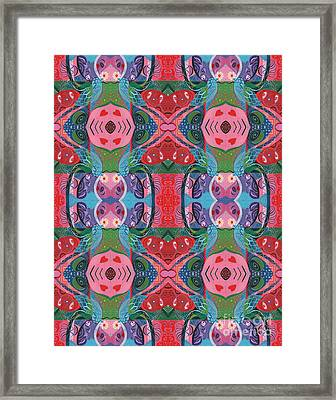 More Love For A Better World Framed Print by Helena Tiainen