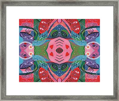 More Love To Go Around Framed Print