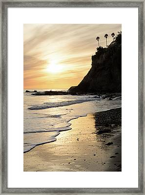More Mesa Sunset West Framed Print