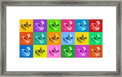 More Rubber Ducks Framed Print by Michael Tompsett