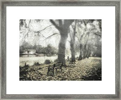 More Than A Bit Arty Framed Print