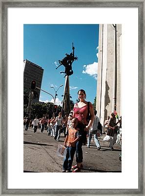 More Than Twosome Framed Print by David Cardona