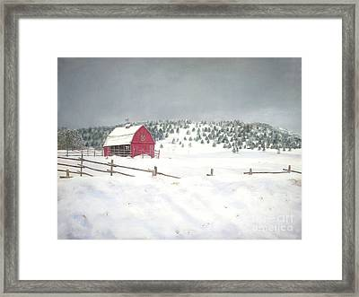 More To Come Framed Print by Jackie Hill