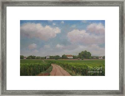 Morey Saint Denis Framed Print