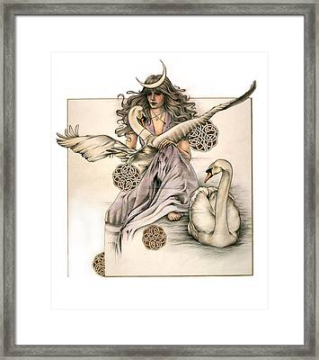 Morgaine Framed Print by Johanna Pieterman