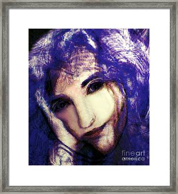 Morgaine Le Fay Framed Print by RC deWinter