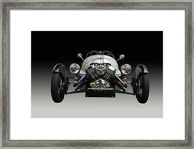 Morgan 3 Wheeler Front End Framed Print by Nick Gray