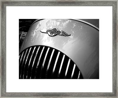 Morgan 4 Plus 4 Framed Print by Mark Alan Perry