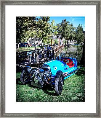 Morgan At The Lake Framed Print