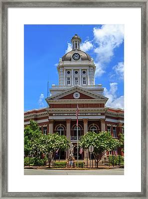 Morgan County Court House Framed Print