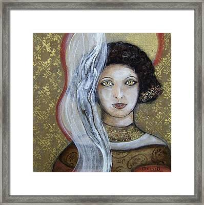 Morgan Le Fay's Enchantments Framed Print by OvidiO Art
