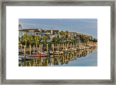 Morgan Place Homes In Wild Dunes Resort Framed Print