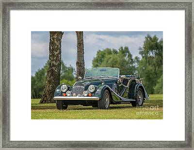 Framed Print featuring the photograph Morgan Sports Car by Adrian Evans