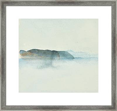 Morgondis Over Kusten - Morning Haze Over The Swedish Westcoast, Hunnebo_1211 Up To 70 X 70 Cm Framed Print