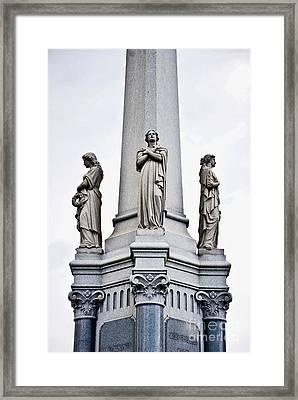 Moriarty Tomb Framed Print by Kathleen K Parker