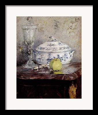 Morisot Digital Art Framed Prints