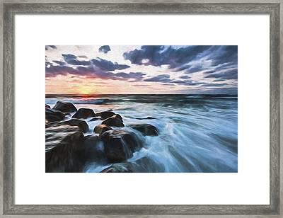 Morning All The Time II Framed Print