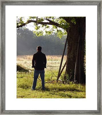 Morning Framed Print by Amy Fix
