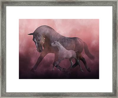 Morning And Dawn Framed Print