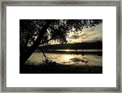 Morning Arises Framed Print by Karol Livote