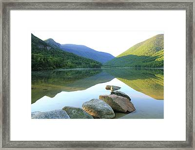 Morning At Echo Lake Framed Print