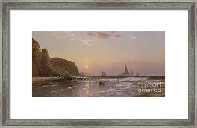 Morning At Grand Manan Framed Print