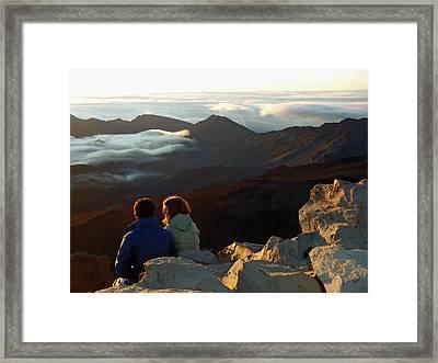 Morning At Haleakala  Framed Print by JAMART Photography
