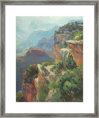 Morning At Hopi Point Framed Print
