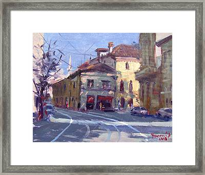 Morning At Padua Italy Framed Print