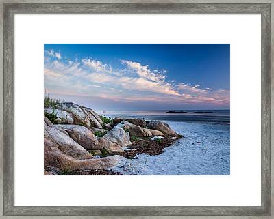 Morning At The Beach Framed Print by Tim Kirchoff