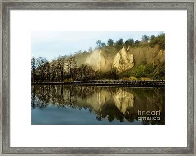 Morning At The Bluffs Framed Print