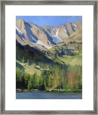 Morning At The Loch Framed Print