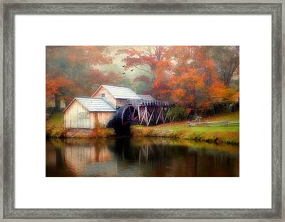 Morning At The Mill Framed Print