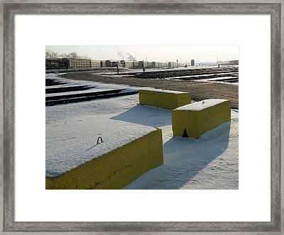 Morning At The Yards Framed Print by Scott Kingery