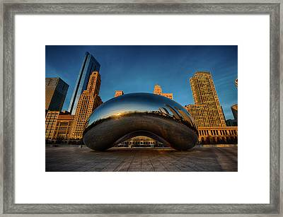 Morning Bean Framed Print