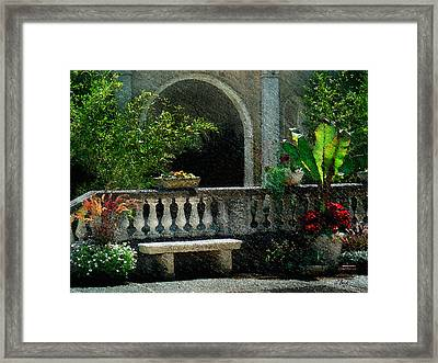 Morning Bliss Framed Print by Gordon Beck