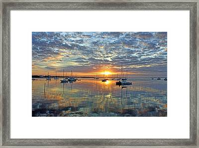 Morning Bliss Framed Print by HH Photography of Florida