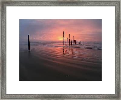 Framed Print featuring the photograph Morning Bliss by Sharon Jones