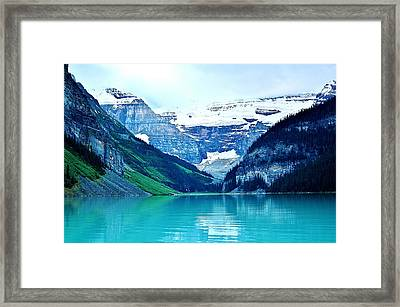 Framed Print featuring the photograph Morning Blue by Al Fritz