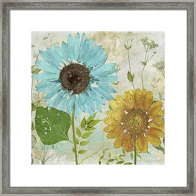 Morning Blue I Framed Print by Mindy Sommers
