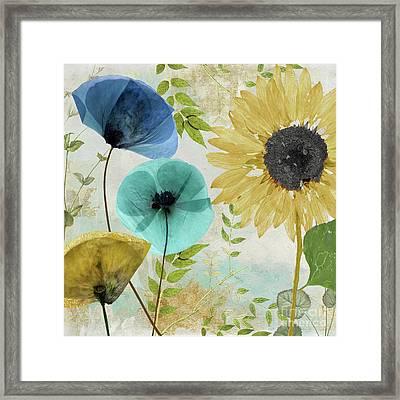 Morning Blue II Framed Print