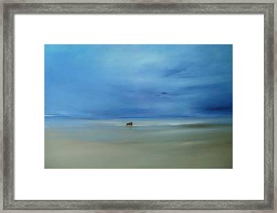 Morning Blues Framed Print by Michael Marrinan