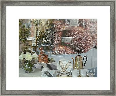 Morning Blush Framed Print by Jacqueline Manos
