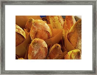 Morning Bread Framed Print