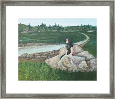 Morning Break Framed Print