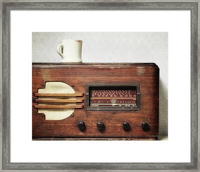 Morning Broadcast Framed Print by Alison Sherrow I AgedPage