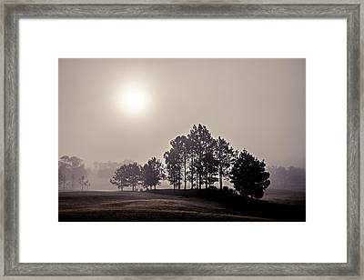 Framed Print featuring the photograph Morning Calm by Annette Berglund