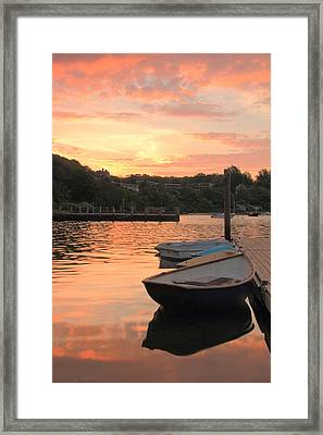 Morning Calm Framed Print