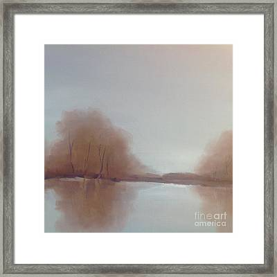 Morning Chill Framed Print